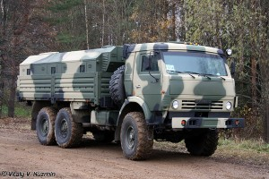Armoured version of the kamAZ 5350 - picture by Vitaly V. Kuzmin