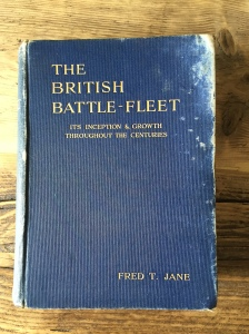 """The British Battle Fleet"" first edition from 1912"